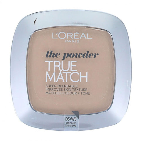 True-Match-Super-Blendable-Powder - Swatch-LOMO-FACE-LOREAL-MAKEUP-golden sand tm-digimall.pk