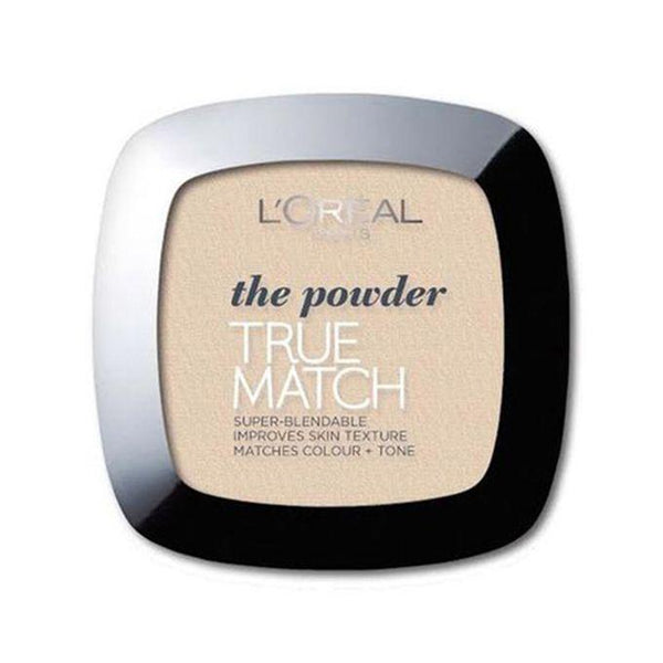 True-Match-Super-Blendable-Powder - Swatch-LOMO-FACE-LOREAL-MAKEUP-rose ivory tm-digimall.pk