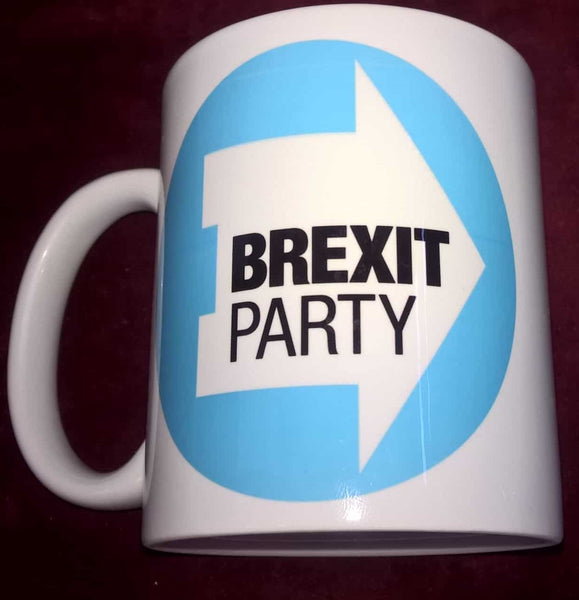 Brexit Party Logo Coffee Mugs - Konig Books