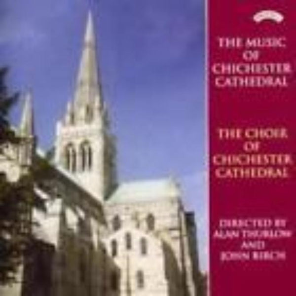 Music and Choir of Chichester Cathedral Music CD - Konig Books