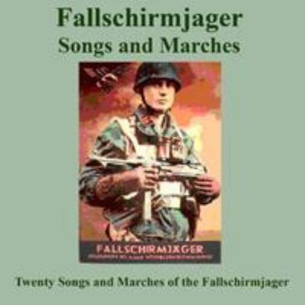 Fallschirmjager Songs and Marches CD - Konig Books