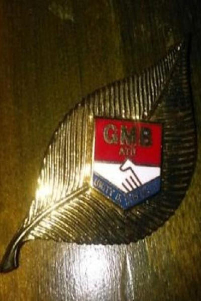 "GMB ATU ""Unity Is Strength"" Badge: General Municipal Boilermakers Trade Union - Konig Books"