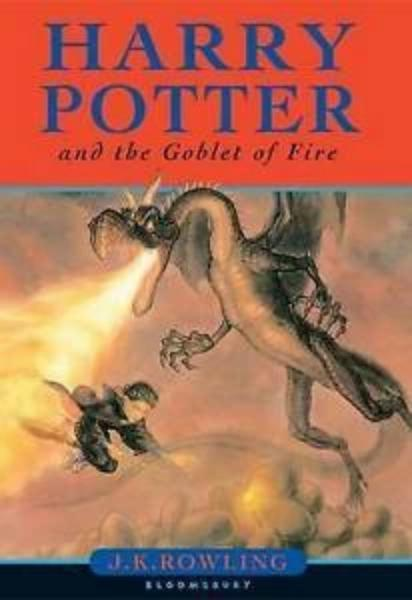 Harry Potter and the Goblet of Fire 1st Edition with mistakes