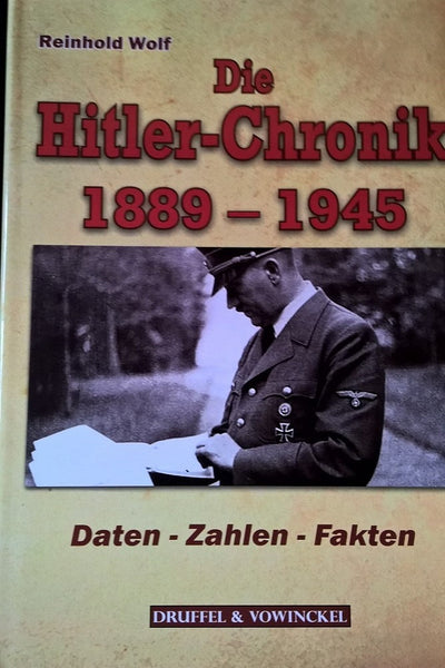 Die Hitler-Chronik 1889-1945
