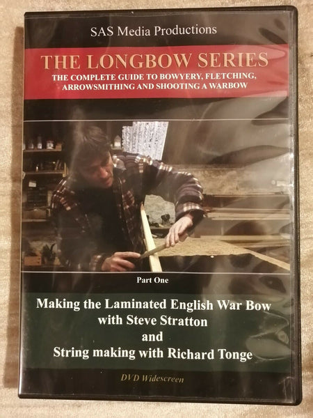 Making an English longbow DVD The Longbow Series part 1