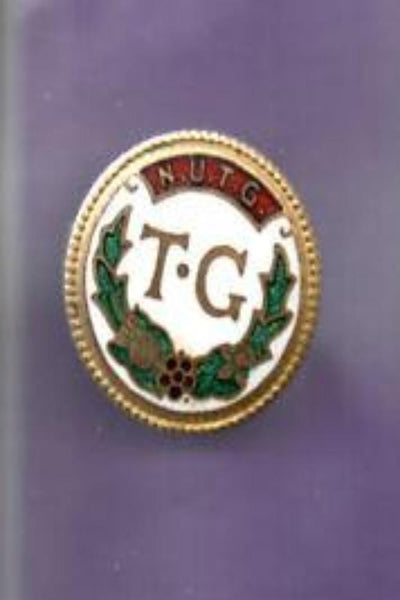 National Union of Townswomen's Guild Badge- NUTG - TG - Fattorini Enamel Badge 1970's - Konig Books