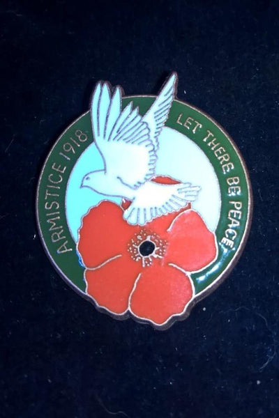 Remembrance 100 Year Centenary WW1 Armistice, Poppy Pin Badges, 1918-2018 - Konig Books