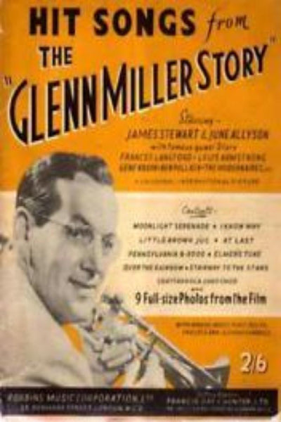 Hit Songs from The Glenn Miller Story, Sheet Music Glenn Miller 40s