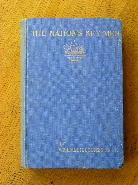 The Nation's Key Men - William H Coombs 1925 SIGNED 1st Edition - Konig Books