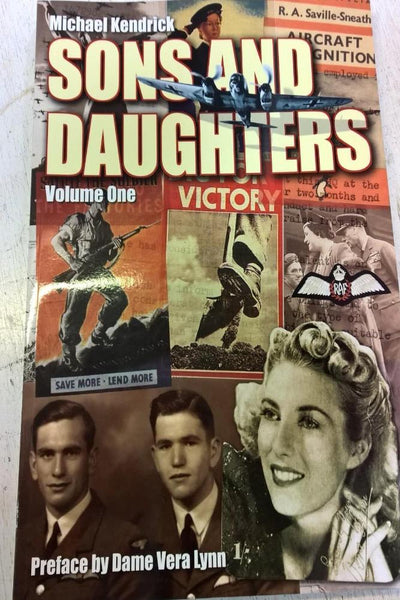Sons and Daughters of the World War One Generation  Vol. 1 and 2