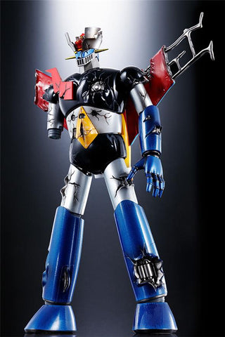Soul of Chogokin GX-70 Mazinger Z Damaged