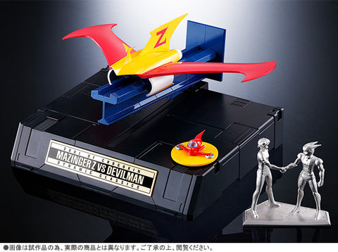 Soul Of Chogokin GX-70VS Mazinger Z VS Devilman DC SET