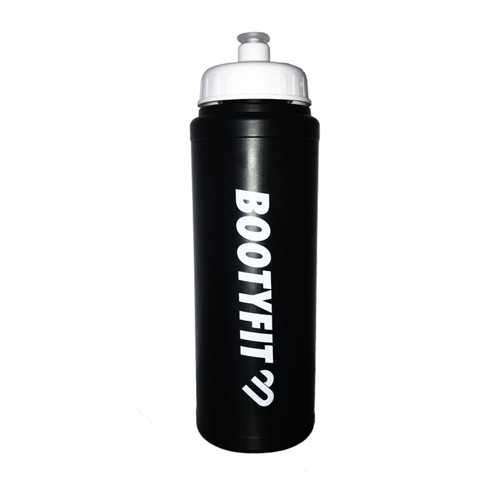 BOOTYFIT WATER BOTTLE BLACK - Bootyfit gym leggings so women can workout in comfort Ladies fitness pants yoga pants for gym exercise perfect tights for workouts in the gym.
