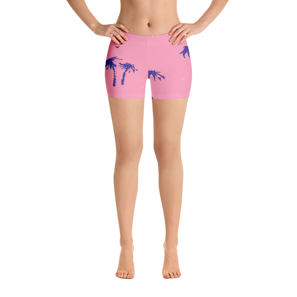 Pink Paradise Booty Shorts By Bootyfit™️