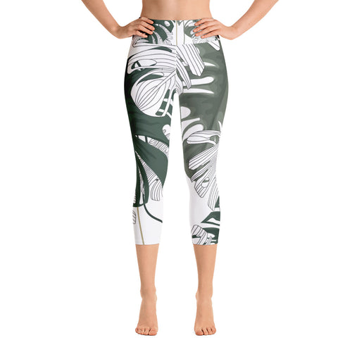 The Maldives Capri Leggings By BootyFit™️
