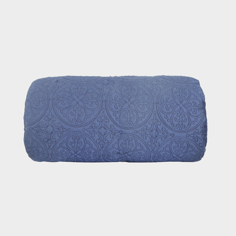 Bed Throw-Costal Blue