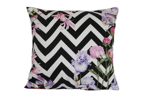 Floral Art Chevron