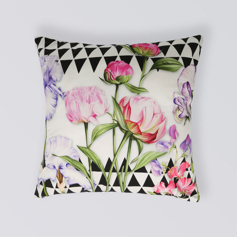 CUSHION FLORAL ART