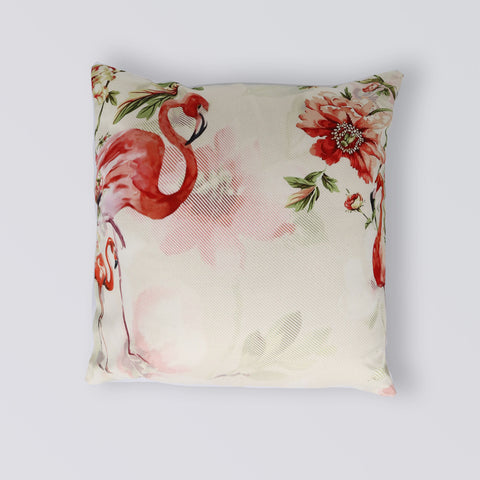 CUSHION FLAMINGO