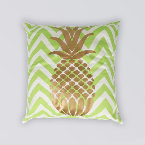 CUSHION PINEAPPLE GREEN