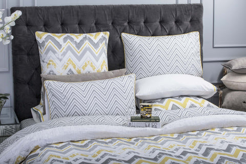 Duvet Cover-Chevron