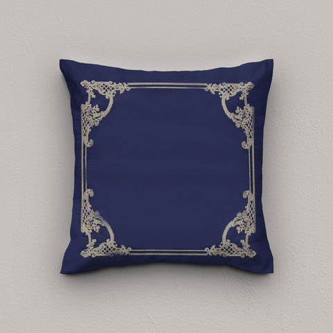Cushion Scarlet Navy