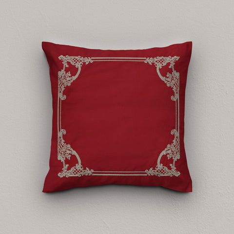 Cushion Scarlet Maroon