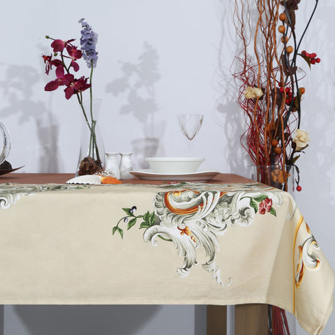 Table Cover French Ornamental