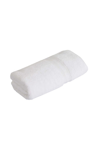 Bath Towel Solid dyed-White