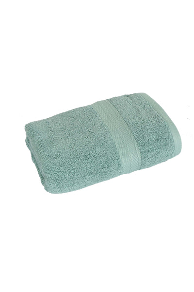 Bath Towel Solid Dyed-Green Canton Color