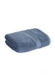 Bath Towel Solid Dyed-Blue Canton Blue