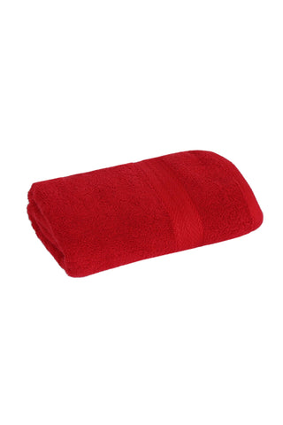 Hand Towel Solid Dyed-Red