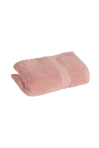 Hand Towel Solid Dyed-Pink