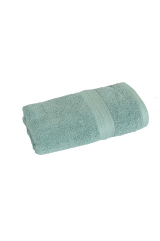 Hand Towel Solid Dyed-Green Canton Color