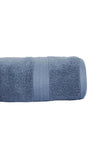 Hand Towel Solid Dyed-Blue Canton Blue