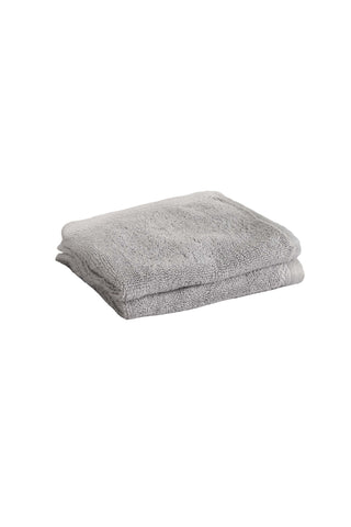 Face Towel Solid Dyed-Grey Glacier Grey