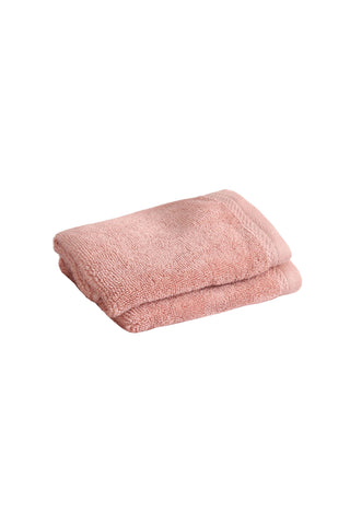 Face Towel Solid Dyed-Pink
