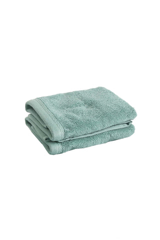Face Towel Solid Dyed-Green Canton Color