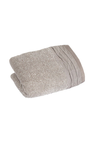 Bath Towel  Yarn Dyed Jacquard-Grey