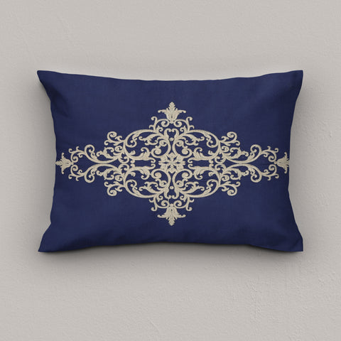 Cushion Broque Navy