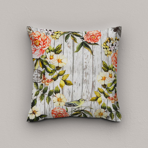 Cushion Vintage Dragonfly
