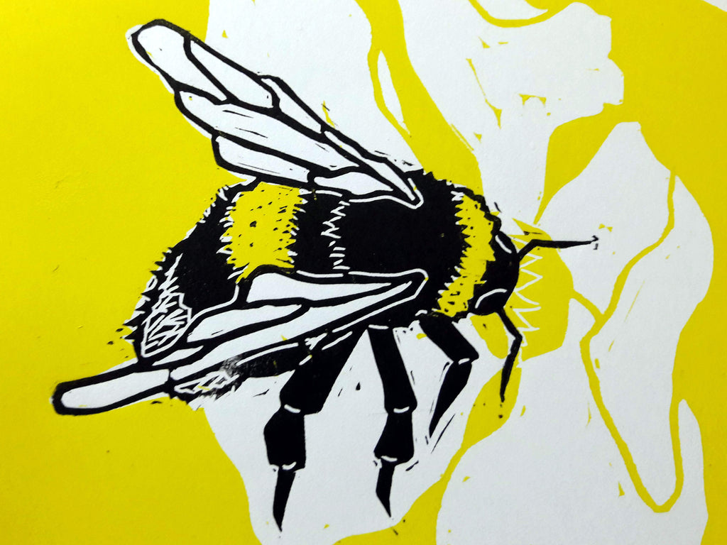 Cutting Out Bumble Bees
