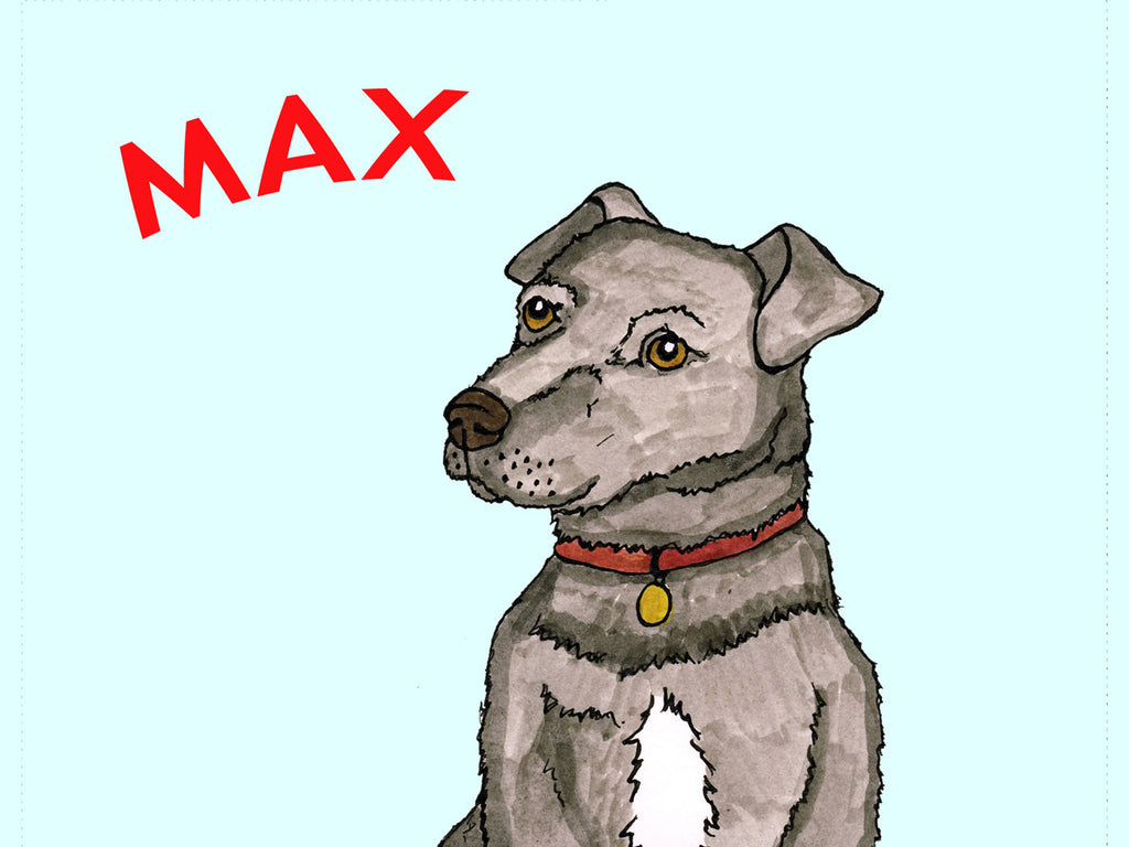 Max the Terrier Sketchbook