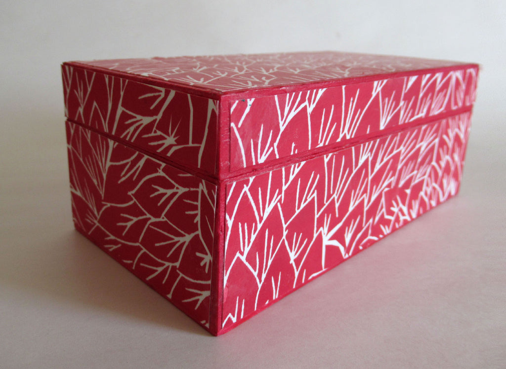 Finished decorative box