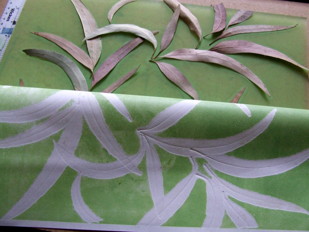 Printing Leaves from Turkey