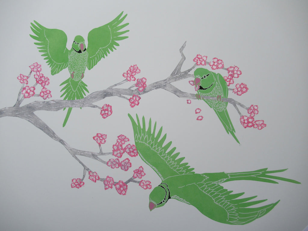 Parakeet Statement Print
