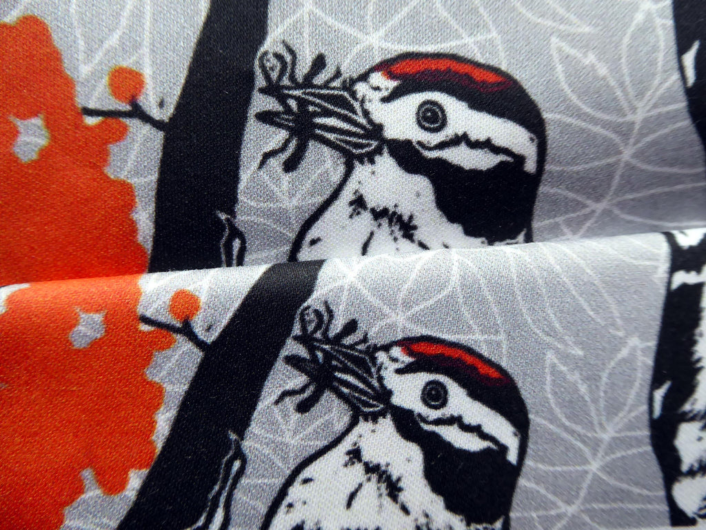Woodpecker fabric samples