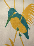 Kingfisher in Reeds Fabric