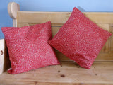 Red Hens Cushion Panels