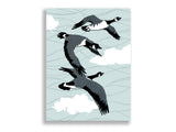 Canadian Geese Statement Print